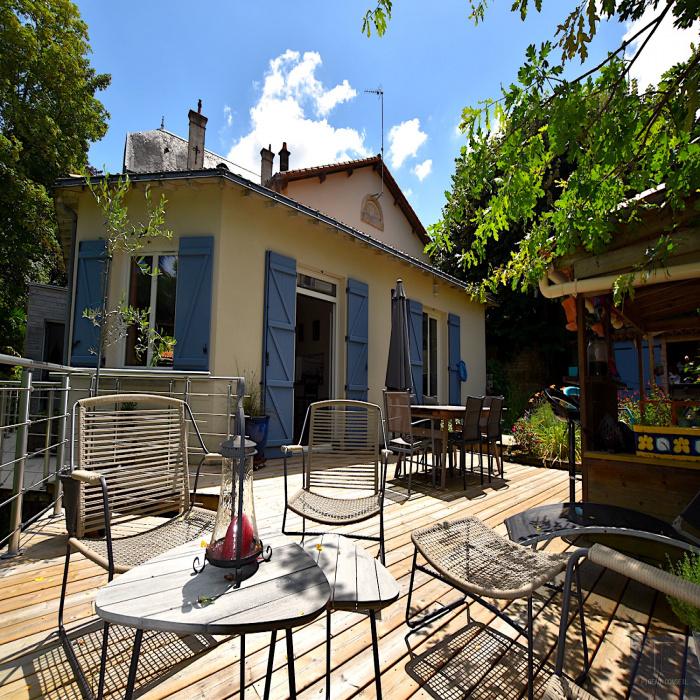 Maison à acheter terrasse à Niort avec Pigeau Conseil Immobilier